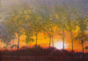Sunset at Oak Heights • Acrylic on Canvas